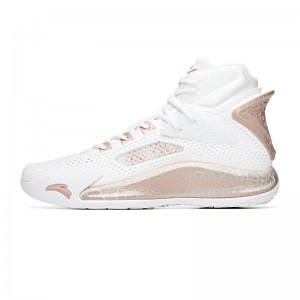 "Anta KT 2020 Klay Thompson ""Home"" Men's Basketball Shoes - White/Gold"