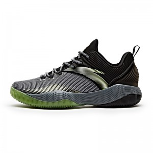 ANTA Klay Thompson 2017 Summer Training Basketball Shoes - Cool Grey/Black