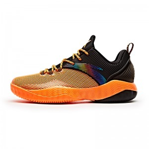 ANTA Klay Thompson 2017 Summer Training Basketball Shoes - Fluorescent Orange/Black