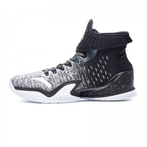 Anta 2018 KT3 Klay Thompson Professional Basketball Shoes - Black/White
