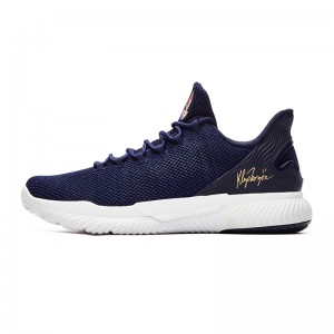 Anta KT 2018 Klay Thompson Men's Basketball Culture Shoes - Blue/White