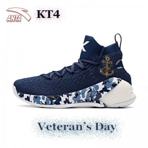 "Anta KT4 Klay Thompson Men's Basketball Sneakers - "" Veteran's Day"""