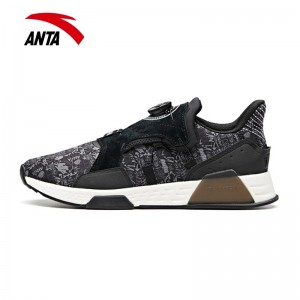 Anta 2018 Winter New Men's Cushioning Fashion Casual Shoes - Black/Grey/White