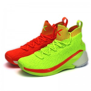 "Anta 2019 Klay Thompson KT4 ""Christmas"" Men's Basketball Shoes - Red/Green [11911101-5]"