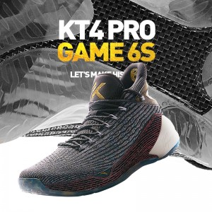2019 Anta Klay Thompson Playoffs KT4 Pro Game 6S Basketball Sneakers