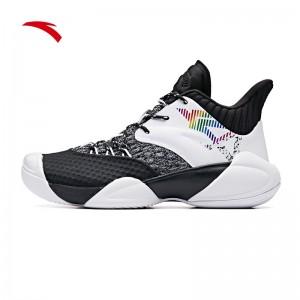 "Anta 2019 Klay Thompson KT4 ""Shock The Game"" High Basketball Shoes - Black/White"