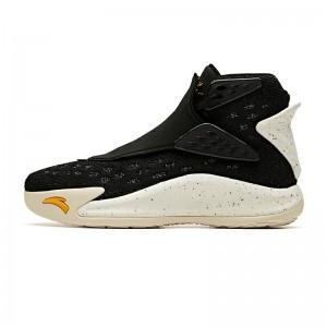"Anta KT5 Klay Thompson ""The Third Jersey"" Basketball Shoes - Black/White/Yellow"