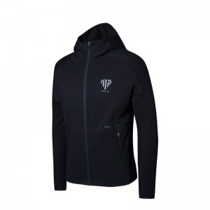 Anta x Manny Pacquiao Mens Boxing Training Hoodie - Black