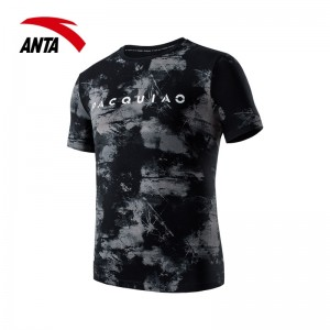 2018 Anta x Manny Pacquiao Personality Men's T-shirts - Black [15829145-2]