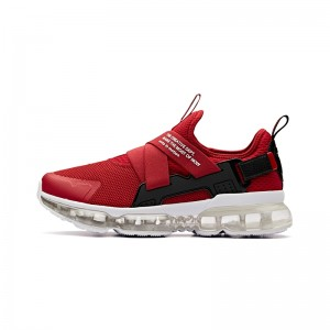 Anta x SEEED 2018 Fall New Men's Cushion Running Sneakers - Red [91845508-5]