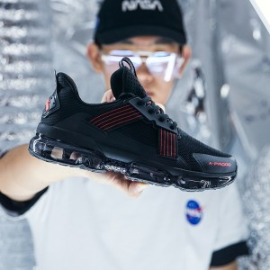 2019 New Anta X SEEED Pilotage 领航 Air Cushion Running Shoes | Anta Sneakers - Black