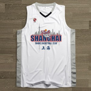 CBA Shanghai Sharks Team Customized Jersey