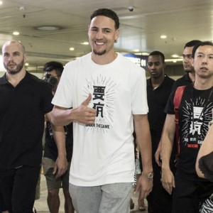 "2017 Klay Thompson ""China Trip"" Men's Tee Shirt - Shock The Game"