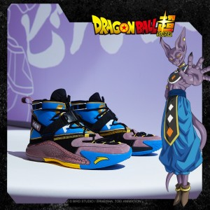 "Anta KT5 Dragon Ball Super Disruptiv ""Beerus"" Sneakers"