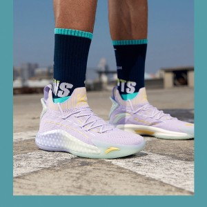 "2020 Anta KT5 Klay Thompson ""Easter Day"" Low Basketball Sneakers"