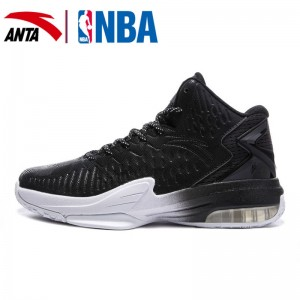 Anta 2017 Klay Thompson KT3 Lite NBA Basketball Shoes - Black/White