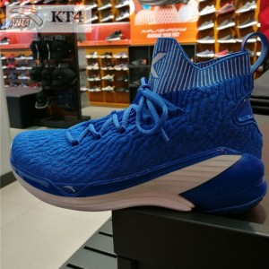 "Anta 2019 Spring New Klay Thompson KT4 ""Home"" Men's Basketball Shoes - Blue"