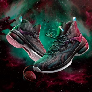 "Anta 2019 UFO 2 Men's High A-Shock Stablizer Basketball Shoes - ""Celestial Body"""