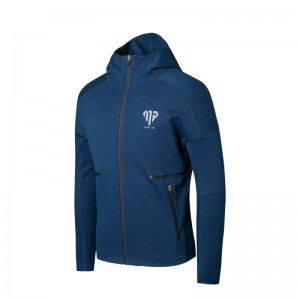 Anta x Manny Pacquiao Mens Boxing Training Hoodie - Blue