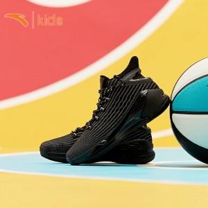 2019 Anta Klay Thompson KT4 Final Kids Basketball Shoes - Black