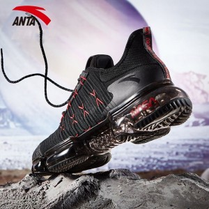 Anta SEEED 2018 NASA 60th Anniversary Running Shoes - Black/Red