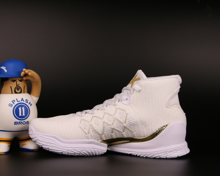 "Anta KT3 Klay Thompson 2018 NBA Playoffs Final ""The Chase Home"" - White/Gold"